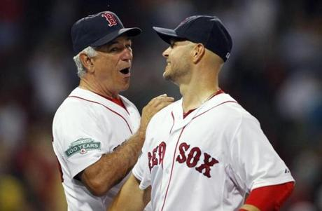 Back at home on July 18, there was more to celebrate with Cody Ross after defeating the White Sox 10-1.